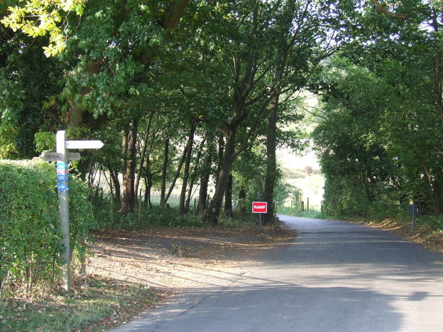 Signpost at Woldingham