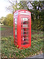 TM4281 : Telephone Box in Moll's Lane by Adrian Cable