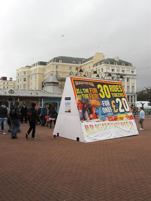 Entrance, Palace Pier