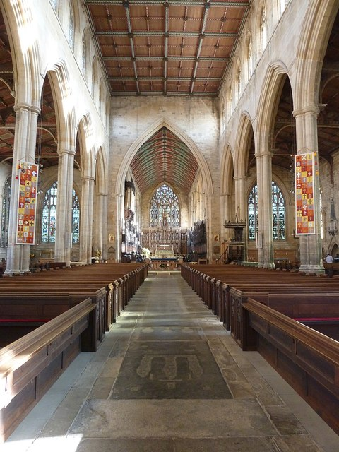 St Botolph's - The Nave