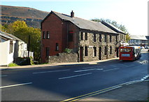 SS9992 : Southern end of De Winton Street, Tonypandy by Jaggery