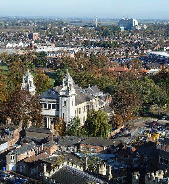 View from St Botolph's - Centenary Methodist Church