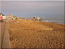 TM3034 : Sea Defences - Construction by Tim Marchant