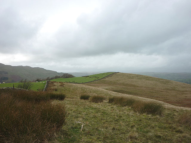 Pt 279m from Pt 279m on Long Rigg