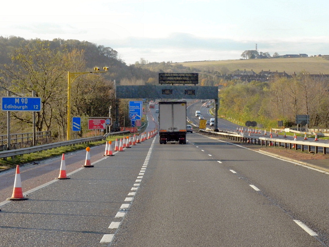 The Southern End of the M90