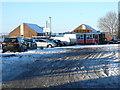 SY6890 : Top o'Town Car park by Nigel Mykura