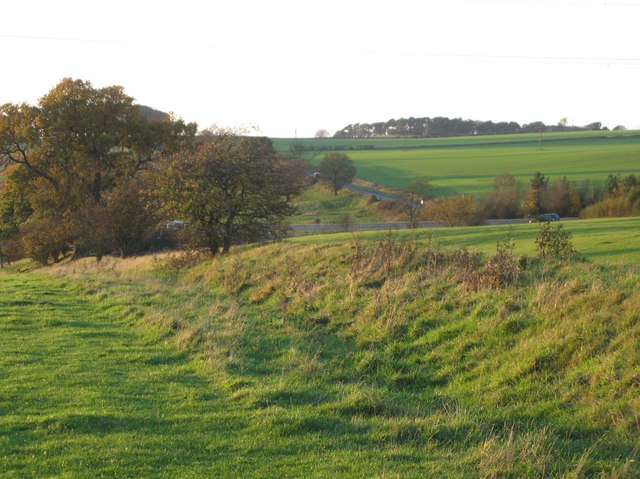 The Vallum west of Heddon-on-the-Wall