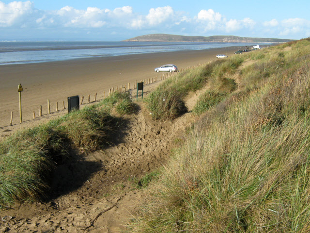 Berrow Beach and dunes