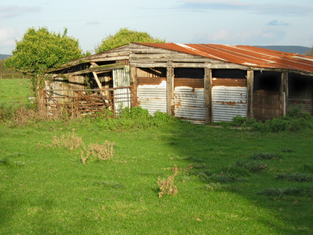 Derelict farm buildings, Burnham