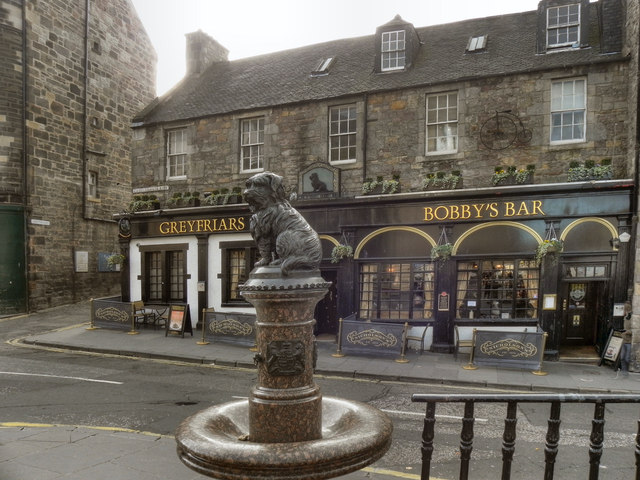 Greyfriars Bobby S Bar And Drinking 169 David Dixon Cc By