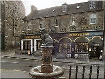 NT2573 : Greyfriars Bobby's Bar and Drinking Fountain by David Dixon