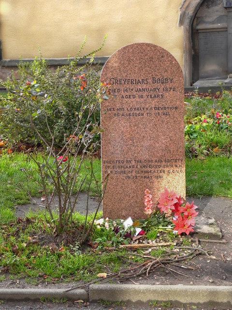 Greyfriars Bobby's Grave © David Dixon cc-by-sa/2.0 :: Geograph ...