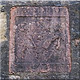NS2982 : Old carved stone, Maitland Street by Lairich Rig