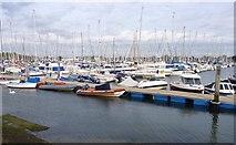 SZ3394 : Lymington Yacht Marina by Mike Smith