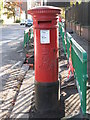 NZ2465 : Edward VII postbox, Queen Victoria Road, NE2 by Mike Quinn