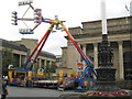 SK3587 : Freak out in front of City Hall, Sheffield: 3/3 by Robin Stott