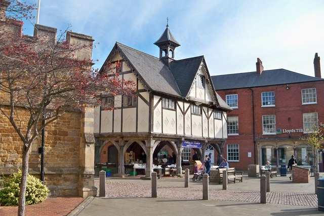 Old Market Hall - Market Harborough