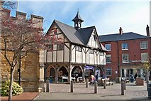 SP7387 : Old Market Hall - Market Harborough by Colin Babb