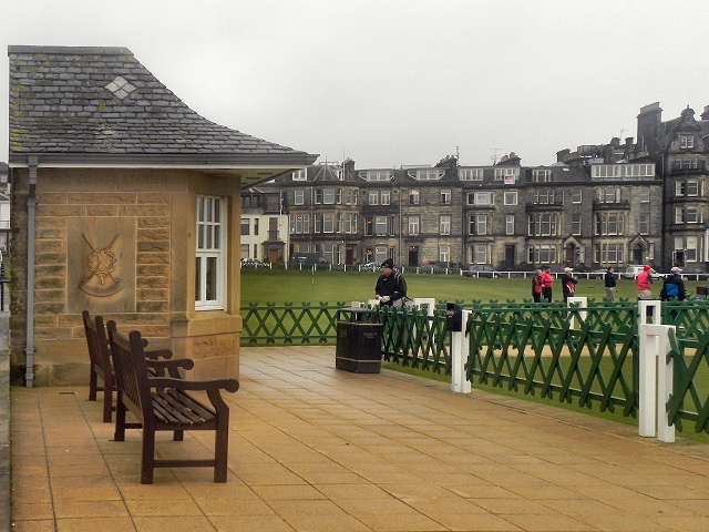 Old Course Starter Hut, St Andrew's Links
