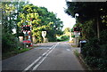 TG1904 : Level Crossing, Intwood Rd by N Chadwick