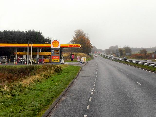 A92 Towards Dundee