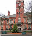 SJ9494 : Town Hall ready for Christmas by Gerald England