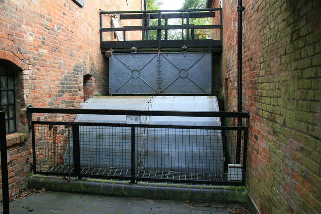 Forge Mill Needle Museum - waterwheel
