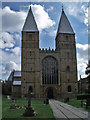 SK7053 : Southwell Minster by J.Hannan-Briggs