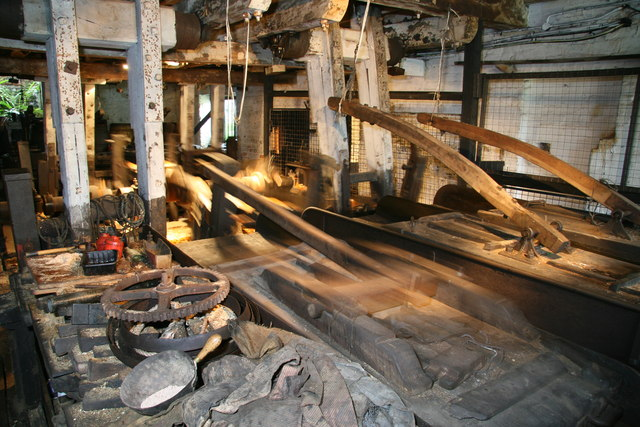 Forge Mill Needle Museum - scouring runners