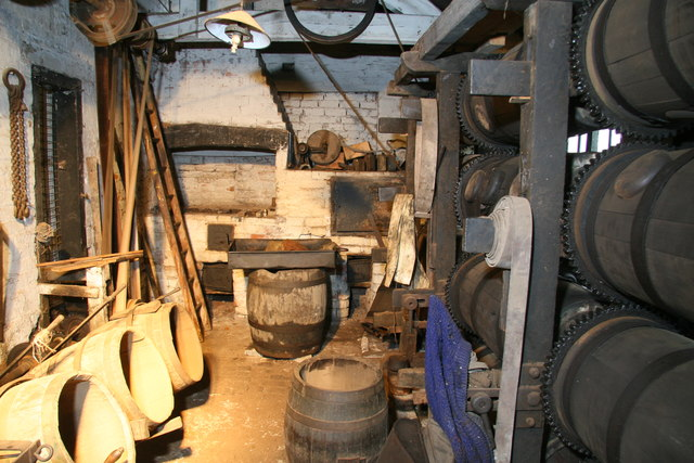 Forge Mill Needle Museum - the barrelling shop