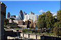 TQ3381 : City of London Skyline from the Tower of London by Christine Matthews