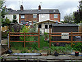 SJ5680 : Terraced housing near Preston Brook, Cheshire by Roger  Kidd