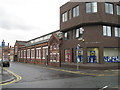 SJ6088 : Springfield Street and the Gateway, Warrington by Robin Stott