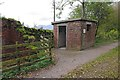 NY7808 : Site of Merrygill signal box by Ian Taylor