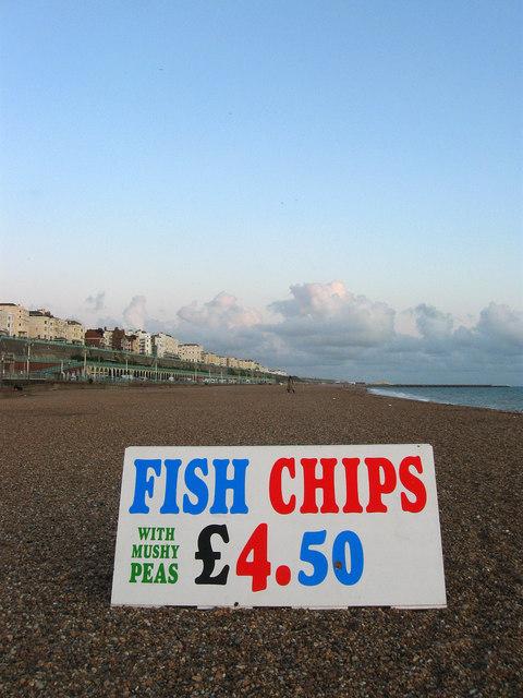Sign, Brighton Beach