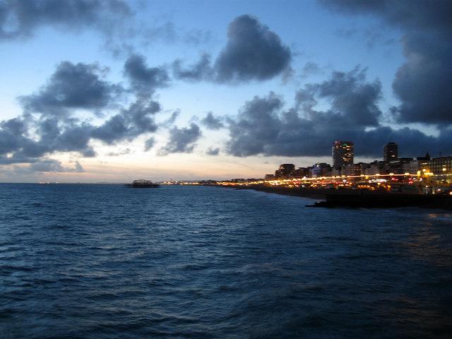 Brighton Seafront at Dusk