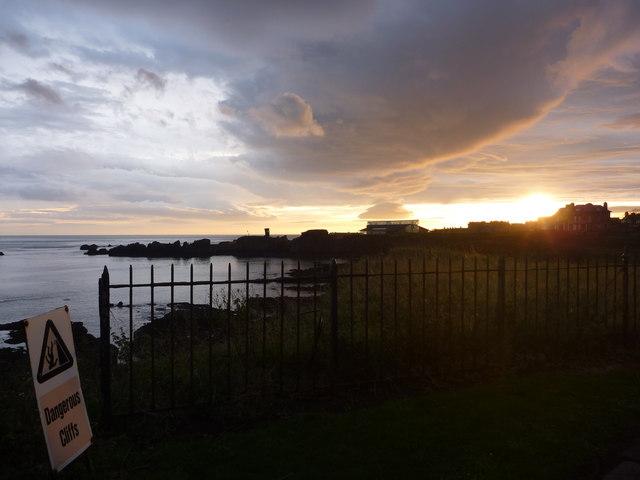 Coastal East Lothian : Saturday Morning Sunrise At Dunbar