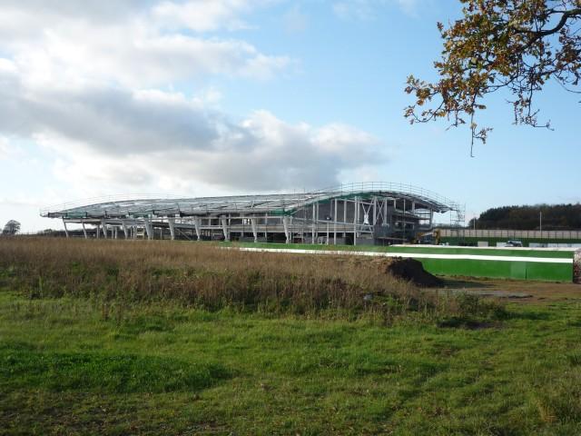 Sports centre under construction