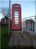 NT6779 : East Lothian Townscape : The Bayswell Road Telephone Box, Dunbar by Richard West