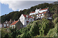 NZ8116 : Runswick Bay: the northern end of the old village by M H Evans