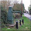 TQ9699 : Water Pump by Roger Jones