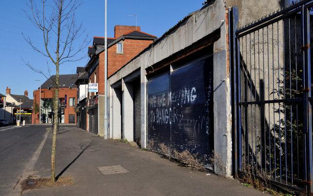 Bloomfield Avenue development site, Belfast