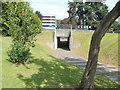 ST2995 : Pedestrian underpass near Cwmbran shopping centre by Jaggery