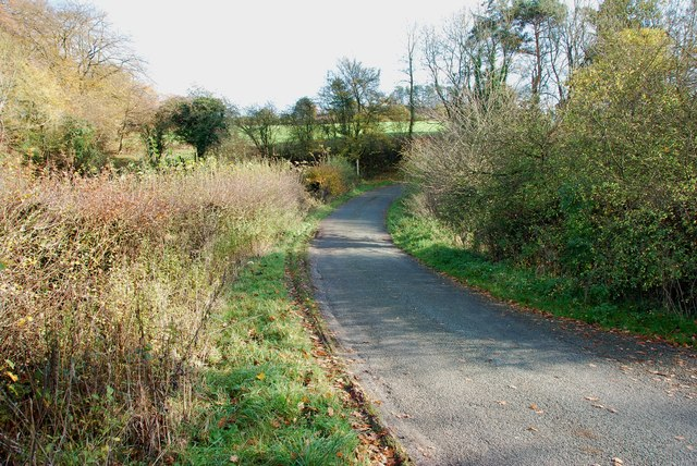Looking to Finger Post on greaves Lane