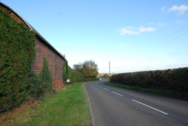 Red Brick Barn on Fauld Lane
