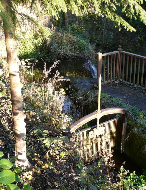 Penstock at Ousel Hole, East Morton