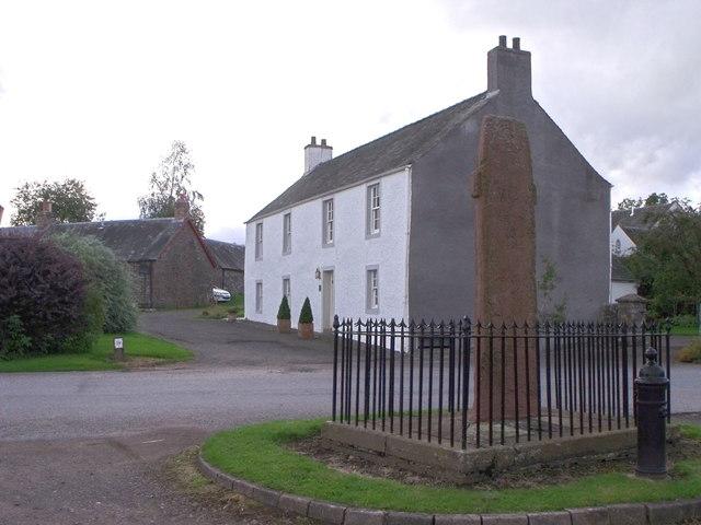 Ancient cross (replica), Fowlis Wester, Perthshire