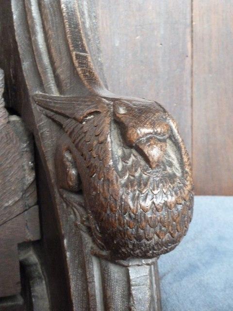 St  Botolph's - Choir Stall Carvings - 13