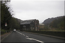SD9726 : Callis Mill and the A646 by Peter Bond