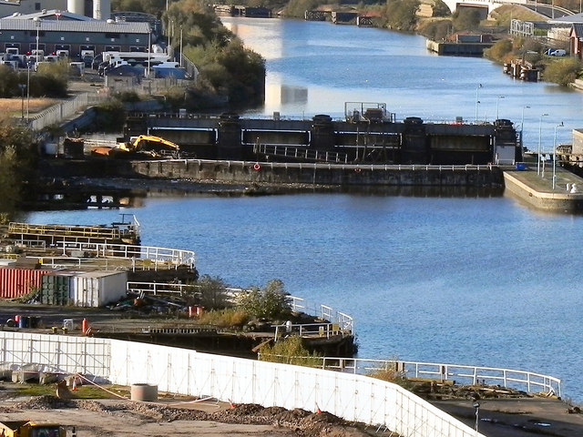 Manchester Ship Canal; Former Dry Docks